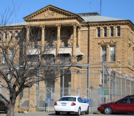 The old Guard Hall Building at Menard Correctional Center. Courtesy of Katherine Baskin.